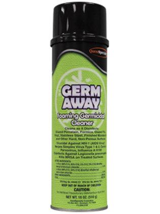Germ Away Foaming Germicidal Cleaner 18oz.