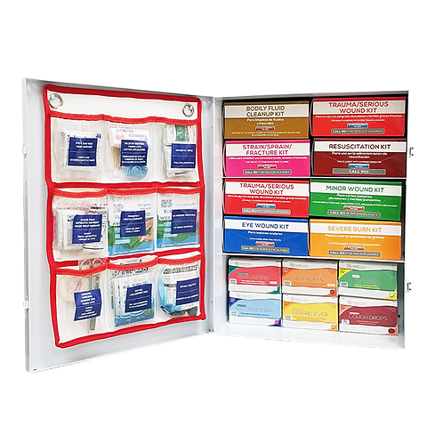 Managed First Aid Class B Cabinets