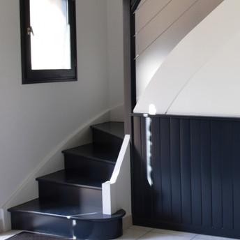 Côté escalier
