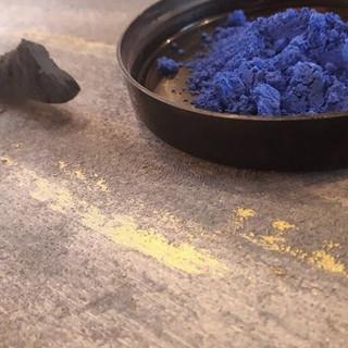Pigment bleu éléctrique