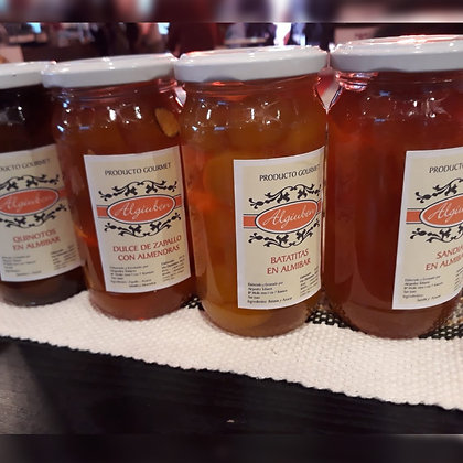 Dulces de Mandarinas - Algiuben Gurmet