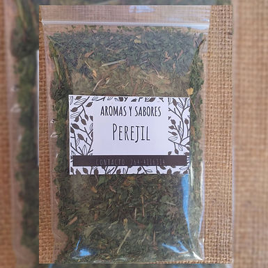 Perejil - Aromas y Sabores