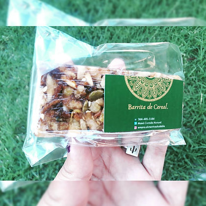Barritas de cereal - MANÁ - Alimento Saludable