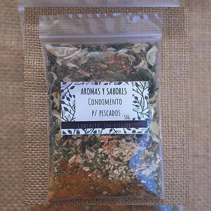 Condimento para pescados - Aromas y Sabores