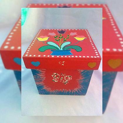 Caja flores - Fabiana Lorena Soto