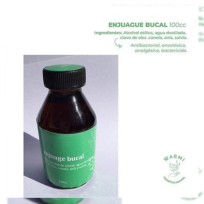 Enjuague bucal - Warmi Cosmética Natural