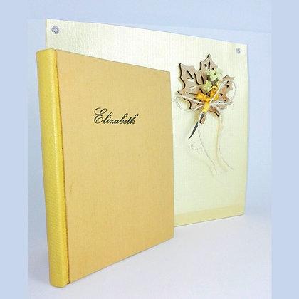Cuaderno Costura Ojal - Espíritu Indigo