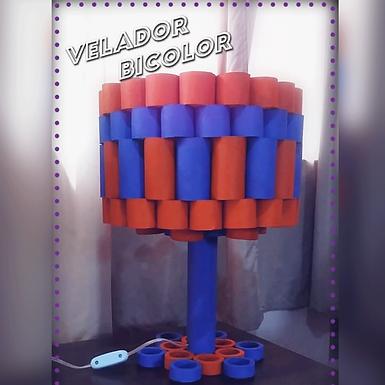 Velador bicolor - Lumine