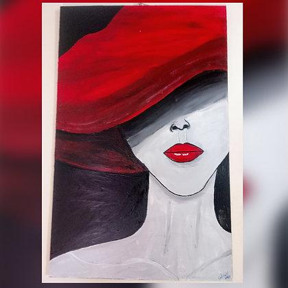 Cuadro pintado a mano en acrílico - 3 - Amate Más