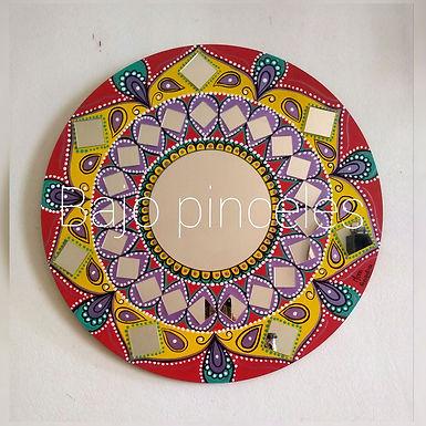 Mandala espejo - Bajo Pinceles