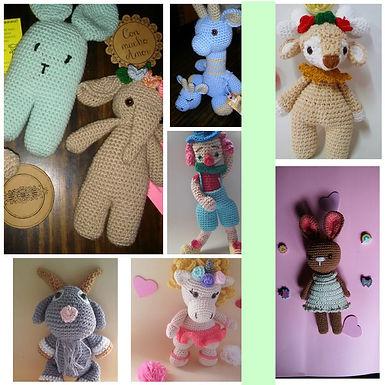 Muñecos de apego - Dulces Caricias