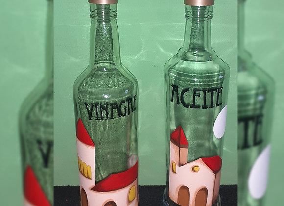 Aceitera y vinagrera - Anunaki