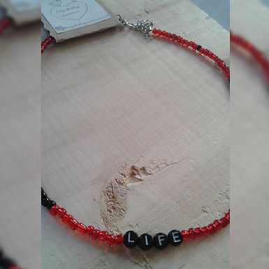 Choker life (vida) - My darling accesorios