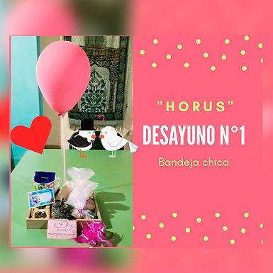 Desayuno  1 con minitorta - Horus Desayunos