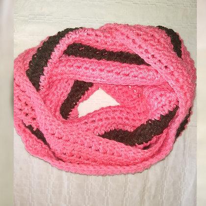 Cuellos sin fin tejidos a crochet y dos agujas - Atelier Las Flores