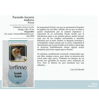 Irreflexivo - Abdulah Libros