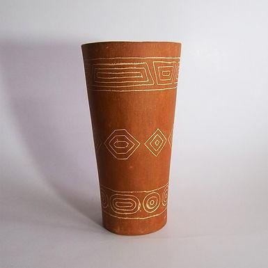 Maceta de cerámica - Durazno Taller Cerámico