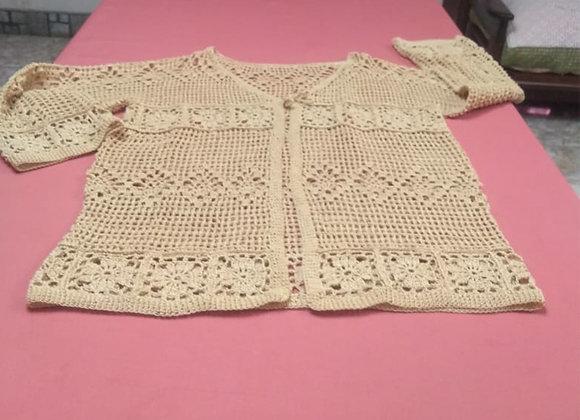 Camperita tejida crochet - Ensueños