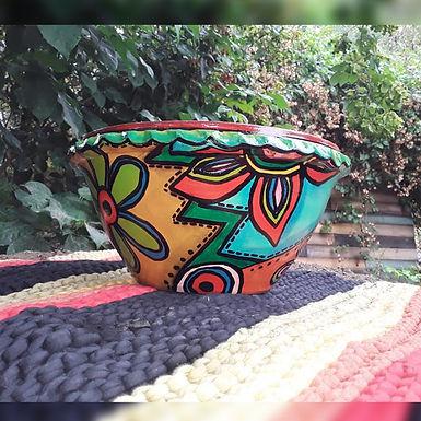 Macetas de cerámica chicas - Laura Benito