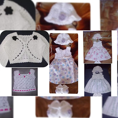 Vestido bebé - Eliezer Arte