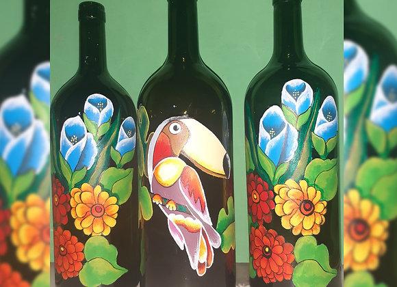 Botellas recicladas - Anunaki
