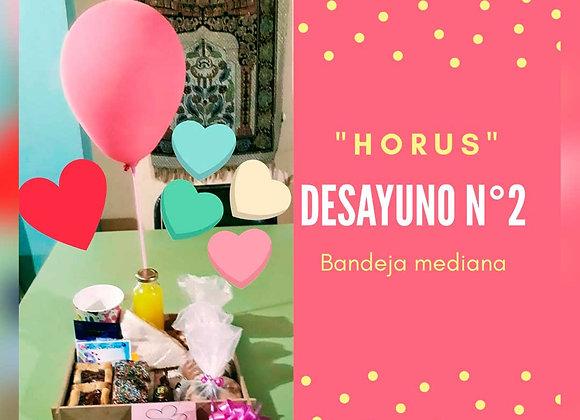 Desayuno 2  - Horus Desayunos