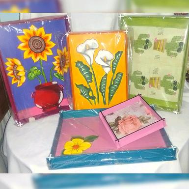 Bandeja flor - Cristina Olivera
