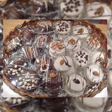 Alfajores con frutos secos caja 6 uº - Mis Delicias