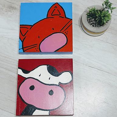 Set de cuadros infantiles - Matria Diseños