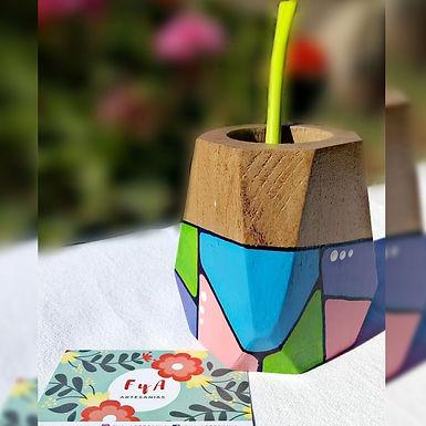 Mate geométrico - FyA artesanías