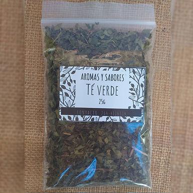 Té verde - Aromas y Sabores