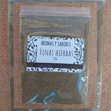 Finas hierbas - Aromas y Sabores