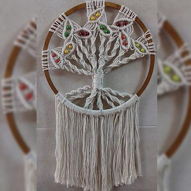 Árbol de la vida - Betsaida - Arte en macramé