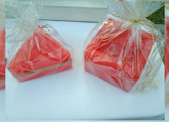Vela triangular aromática esencia floral nardo - MC & A Fragancias