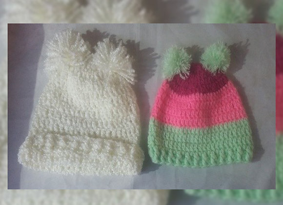 Gorritos niños a crochet - Mariangel Tejidos