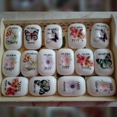 Jabones decorados - Art & Mañas