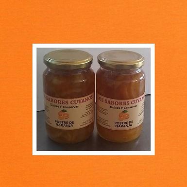 Postre de Naranja - 500 g. - Los Sabores Cuyanos