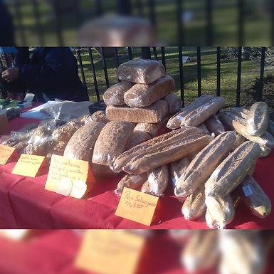 Pan blanco - Inti y Quilla