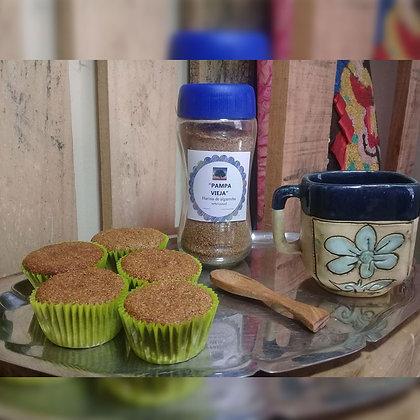 Muffins veganos de manzana - Pampa Vieja