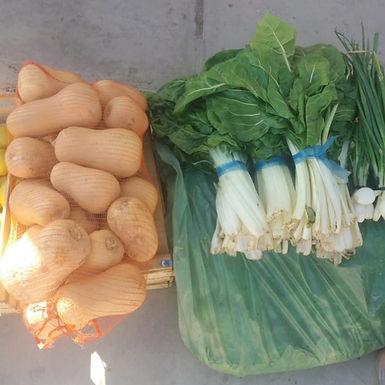 Bolsón de verduras - Verduras Productores Cerro Carmelo