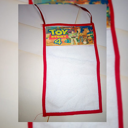 Toalla colgante infantil - Cuatro Remos Sublimados