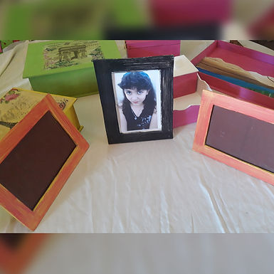 Porta retratos - AleArte
