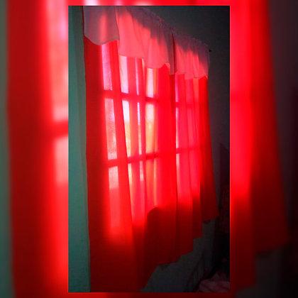 Cortina roja - Namaste