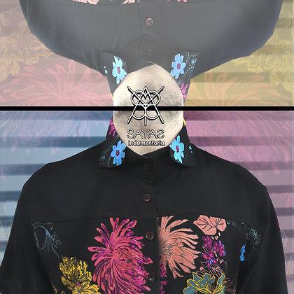 Camisa unisex flowers - SayaS - indumentaria