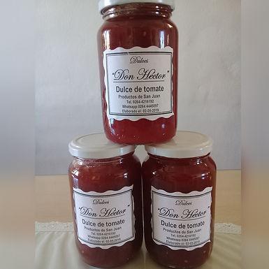 Dulce de Tomate - Dulces y Conservas Don Héctor
