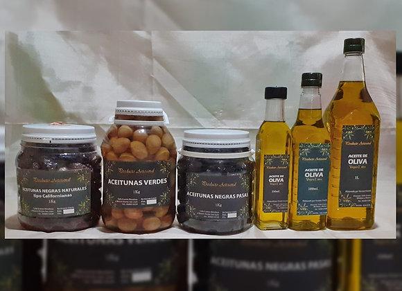 Aceitunas negras x 1kg  - Vicente Catala