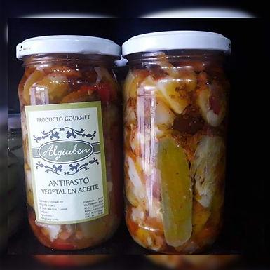 Antipasto Común: Mix de verdura en Escabeche Frasco x 350 - Algiuben Gurmet