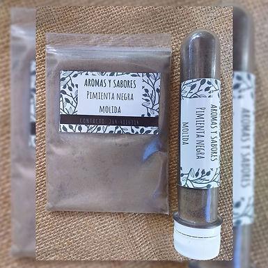 Pimienta negra molida - Aromas y Sabores