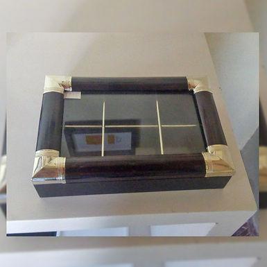 Cajas wengue seis compartimientos  - Pueblo Nuevo