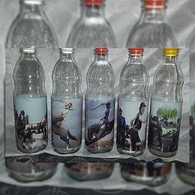 Botella 1 l. gauchos - Reciclar-Reutilizar